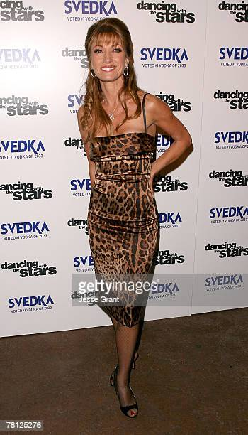 "Actress Jane Seymour arrives at the ""Dancing With The Stars"" season finale after party sponsored by Svedka at The Day After night club on November..."