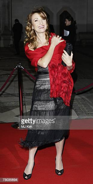 Actress Jane Seymour arrives at the Morgan Stanley Great Britons Awards 2006 at the Guildhall on January 18 2007 in London England