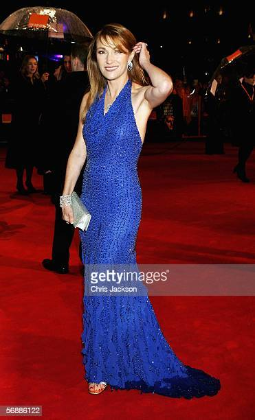 Actress Jane Seymour arrives at The Orange British Academy Film Awards at the Odeon Leicester Square on February 19, 2006 in London, England.