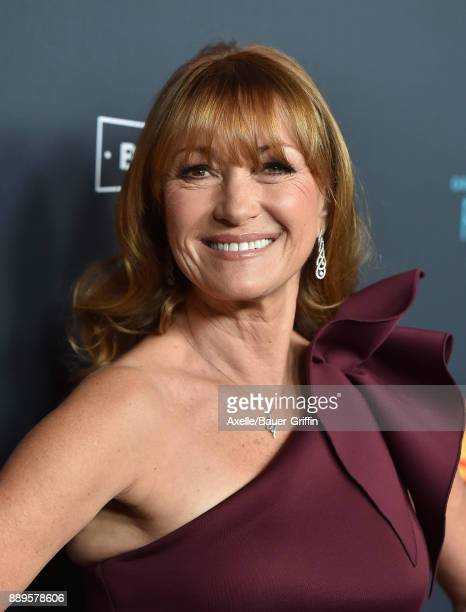 Actress Jane Seymour arrives at the premiere of 'Just Getting Started' at ArcLight Hollywood on December 7 2017 in Hollywood California