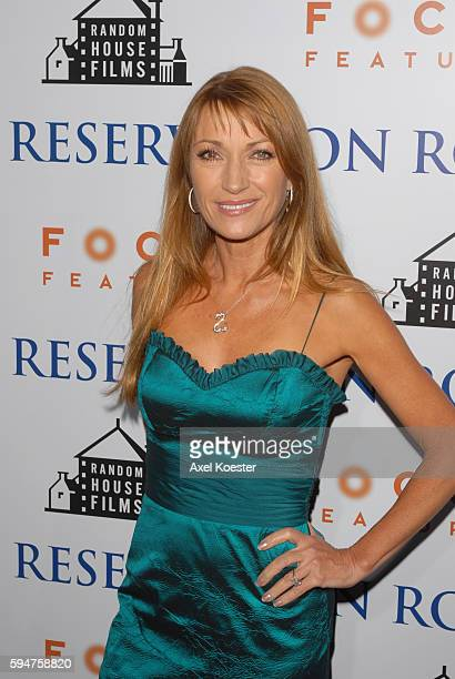 Actress Jane Seymour arrives to the premiere of Reservation Road at the Samuel Goldwyn Theater in the Academy of Motion Picture Arts and Sciences in...