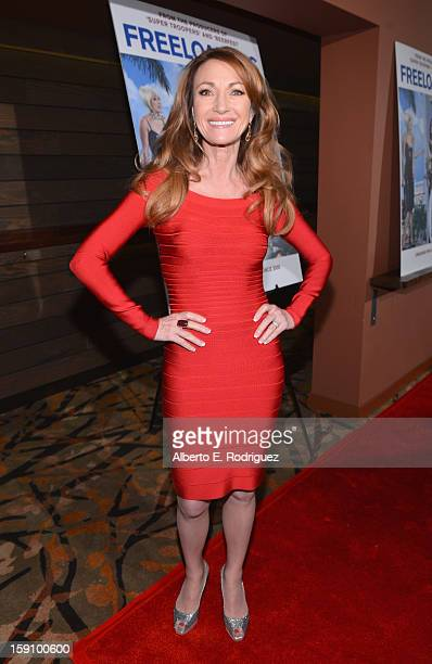 Actress Jane Seymour arrives to the premiere of Salient Media's Freeloaders at Sundance Cinema on January 7 2013 in Los Angeles California