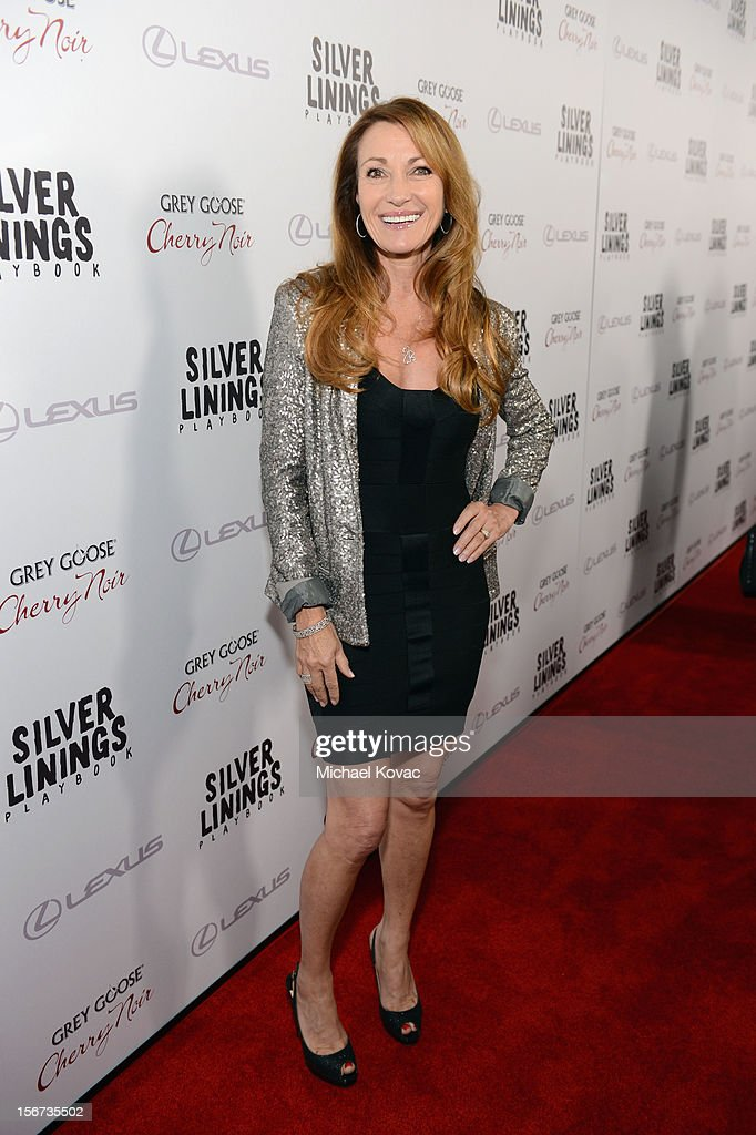 Actress Jane Seymour attends a special screening of 'Silver Linings Playbook' presented by The Weinstein Company sponsored by Grey Goose and Lexus at AMPAS Samuel Goldwyn Theater on November 19, 2012 in Beverly Hills, California.