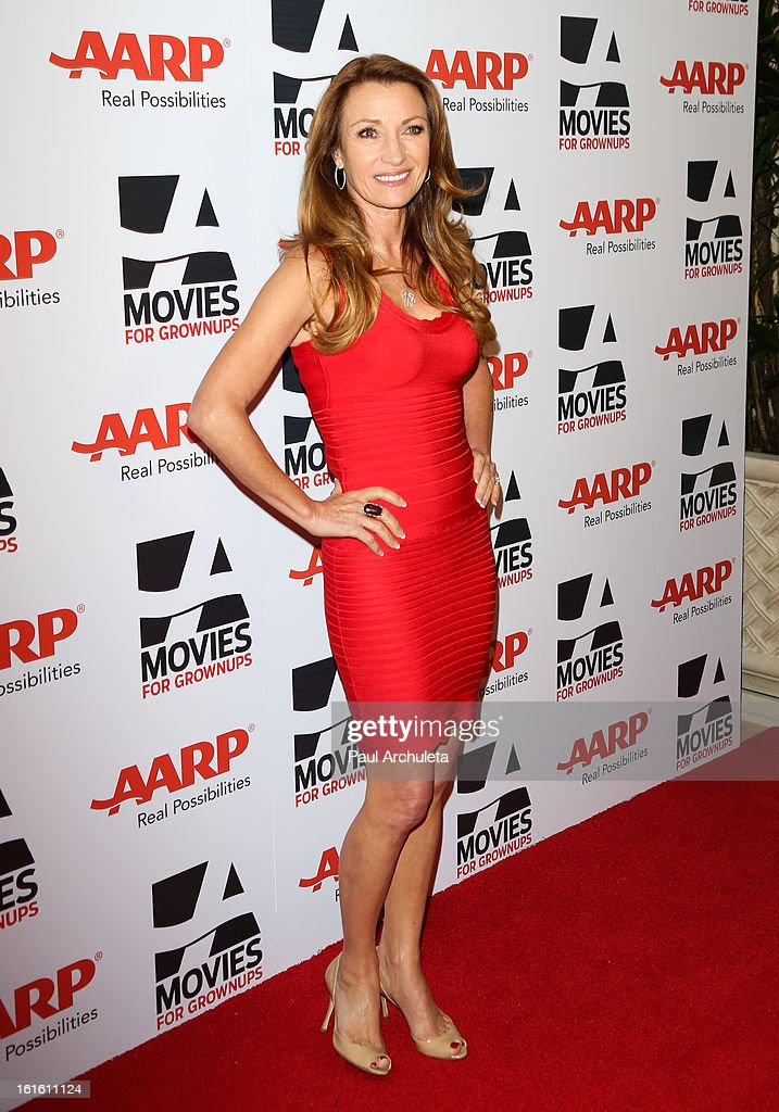 Actress Jane Seymour attends AARP Magazine's 12th annual Movies For Grownups Awards luncheon at the Peninsula Hotel on February 12, 2013 in Beverly Hills, California.