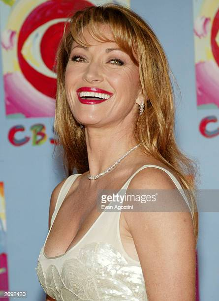 Actress Jane Seymour attends CBS at 75 television gala at the Hammerstein Ballroom November 02 2003 in New York City