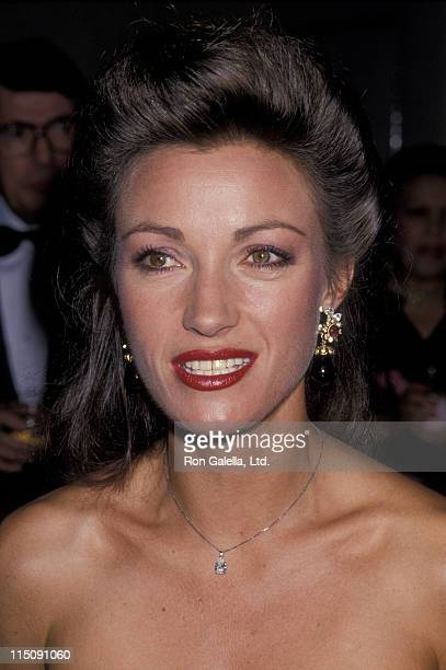 Actress Jane Seymour attends Hadassah's Advance Gifts Benefit Gala on September 27 1989 at the Beverly Hills Hotel in Beverly Hills California