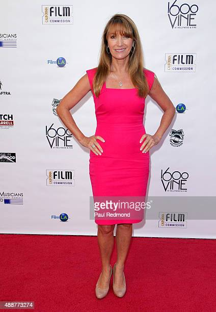 Actress Jane Seymour attends Made In Hollywood Honors at 1600 Vine on September 17 2015 in Hollywood California