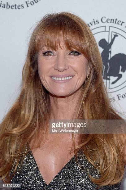 Actress Jane Seymour attends the 2016 Carousel Of Hope Ball at The Beverly Hilton Hotel on October 8 2016 in Beverly Hills California
