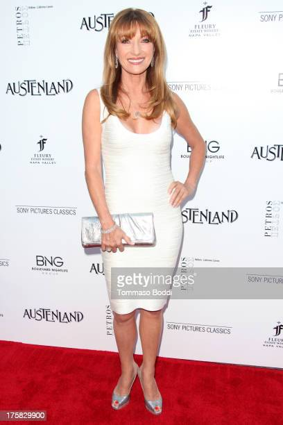Actress Jane Seymour attends the Austenland Los Angeles premiere held at ArcLight Hollywood on August 8 2013 in Hollywood California