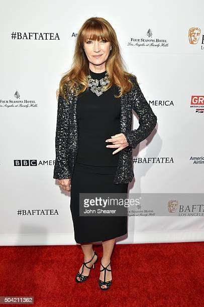 Actress Jane Seymour attends the BAFTA Awards Season Tea Party at Four Seasons Hotel Los Angeles at Beverly Hills on January 9 2016 in Los Angeles...