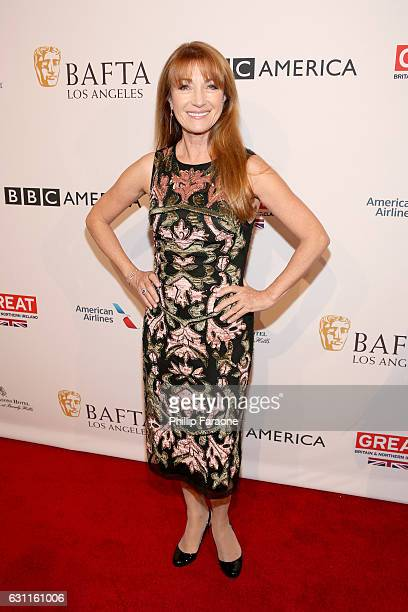 Actress Jane Seymour attends The BAFTA Tea Party at Four Seasons Hotel Los Angeles at Beverly Hills on January 7 2017 in Los Angeles California