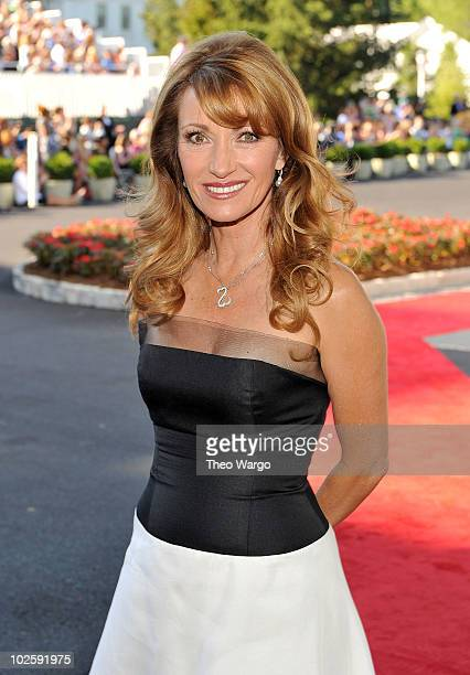 Actress Jane Seymour attends The Greenbrier for the gala opening of the Casino Club on July 2 2010 in White Sulphur Springs West Virginia