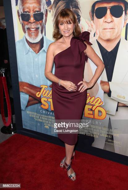 Actress Jane Seymour attends the premiere of Broad Green Pictures' 'Just Getting Started' at ArcLight Hollywood on December 7 2017 in Hollywood...