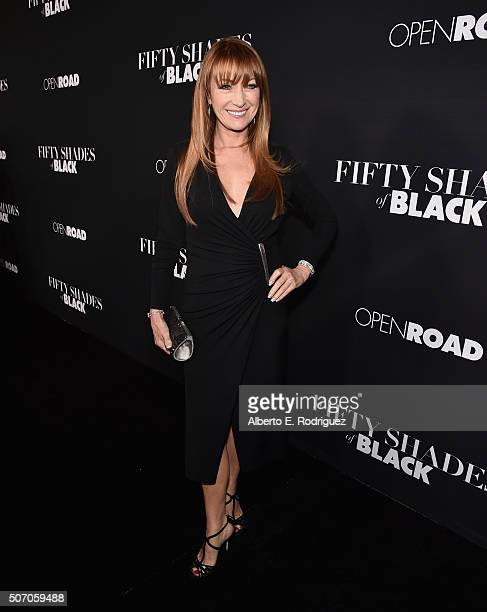 Actress Jane Seymour attends the premiere of Open Road Films' 'Fifty Shades of Black' at Regal Cinemas LA Live on January 26 2016 in Los Angeles...