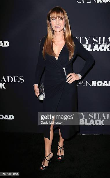 Actress Jane Seymour attends the premiere of Open Roads Films' 'Fifty Shades of Black' at Regal Cinemas LA Live on January 26 2016 in Los Angeles...