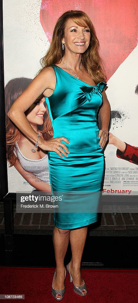 Actress Jane Seymour attends the premiere of 'Waiting For Forever' at The Pacific Theatres at the Grove on February 1, 2011 in Los Angeles, California.
