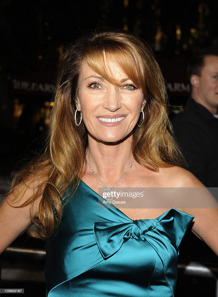 Actress Jane Seymour attends the 'Waiting for Forever' Movie Premiere at The Grove on February 1, 2011 in Los Angeles, California.