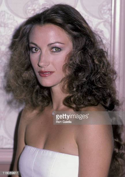 Actress Jane Seymour attends Third Annual Celebrity MotherDaughter Fashion Show on March 8 1984 at the Beverly Hilton Hotel in Beverly Hills...
