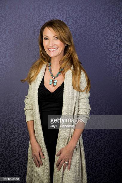 Actress Jane Seymour is photographed at the Sundance Film Festival for Los Angeles Times on January 19 2013 in Park City Utah PUBLISHED IMAGE CREDIT...