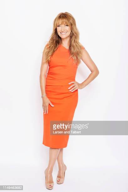 Actress Jane Seymour is photographed for First For Women on August 20, 2018 in Malibu, California. PUBLISHED IMAGE.