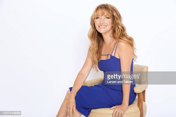 Actress Jane Seymour is photographed for First For Women on August 20, 2018 in Malibu, California.