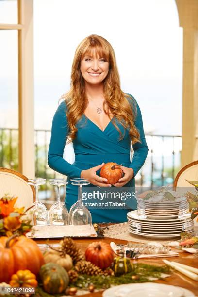 Actress Jane Seymour is photographed for First For Women on August 3 2017 in Malibu California PUBLISHED IMAGE