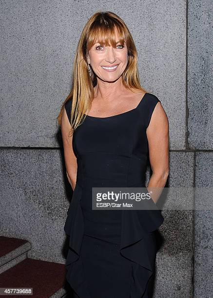 Actress Jane Seymour is seen on October 23 2014 in New York City