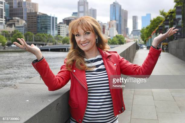 MELBOURNE VIC Actress Jane Seymour poses during a photo shoot in Melbourne Victoria