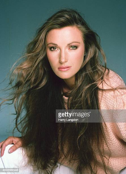 Actress Jane Seymour poses for a portrait in 1985 in Los Angeles, California.