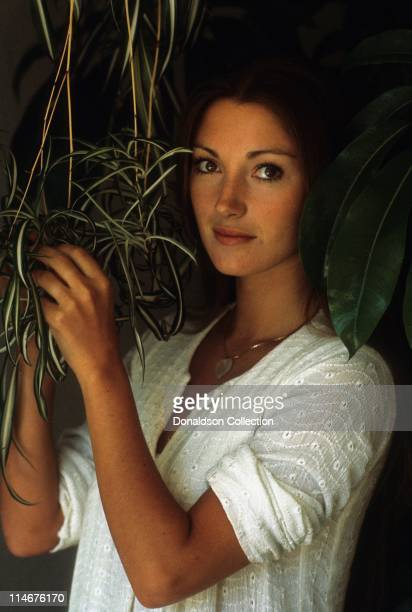 Actress Jane Seymour poses for a portrait in Circa 1985 in Los Angeles California