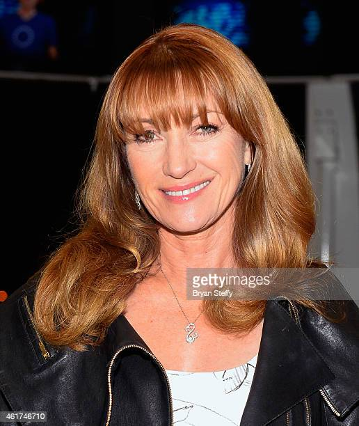 Actress Jane Seymour rides the world's tallest obeservation wheel The High Roller at The LINQ on January 18 2015 in Las Vegas Nevada