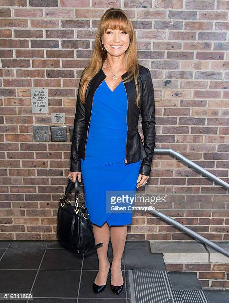 Actress Jane Seymour visits Fox 29's 'Good Day' at FOX 29 Studio on March 18 2016 in Philadelphia Pennsylvania