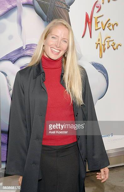 Actress Jane Sibbett arrives at the Los Angeles premiere of the movie 'Happily N'Ever After' at Mann's Festival Theater in Westwood