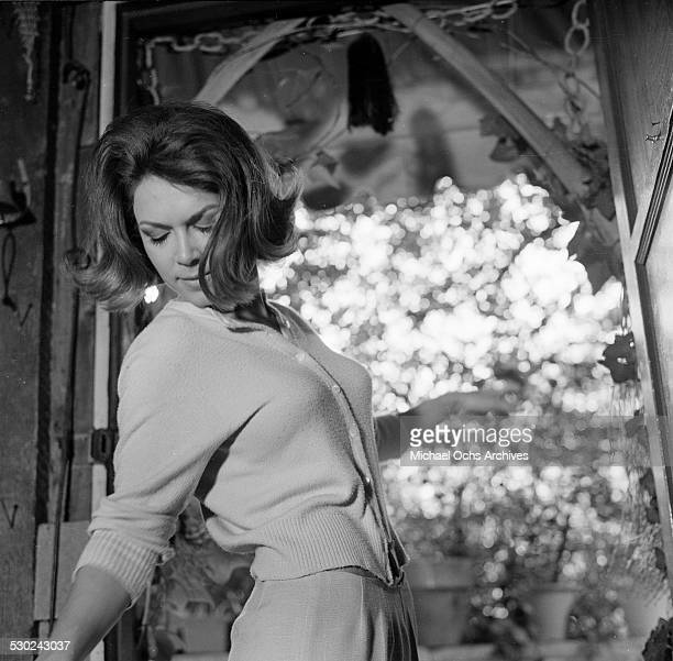 Actress Jane Wald poses at home in Los AngelesCA