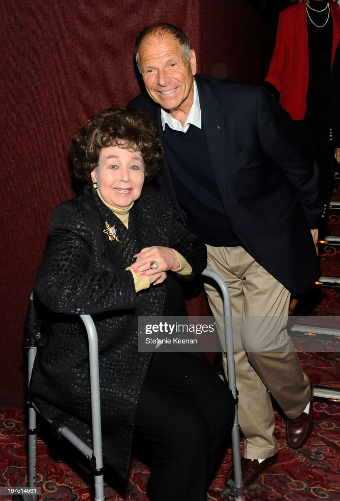 Actress Jane Withers (L) attends the 'Funny Girl' screening during the 2013 TCM Classic Film Festival Opening Night at TCL Chinese Theatre on April 25, 2013 in Los Angeles, California. 23632_008_SK_0534.JPG