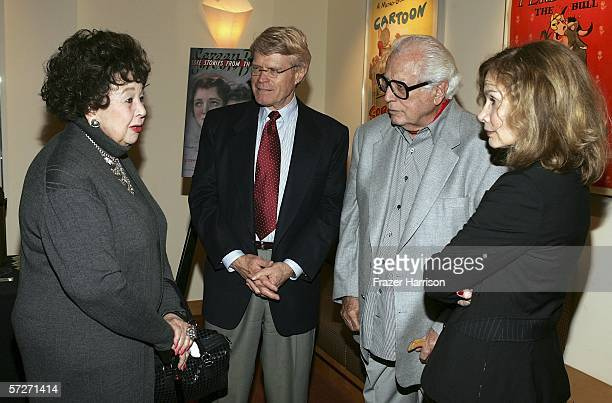 Actress Jane Withers Director of UCLA Archive Tim Kittleson and Janet Bergstrom a professor in the Department of Film Tv and Digital Media at UCLA...