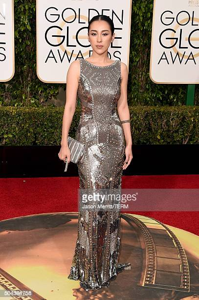 Actress Jane Wu attends the 73rd Annual Golden Globe Awards held at the Beverly Hilton Hotel on January 10 2016 in Beverly Hills California
