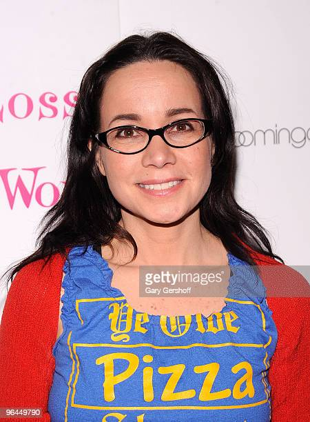 Actress Janeane Garofalo attends the Love Loss and What I Wore new cast member celebration at Marseille on February 4 2010 in New York City