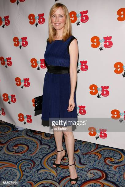 Actress Janel Maloney attends the opening of 9 to 5 The Musical on Broadway at the Marriott Marquis Theatre on April 30 2009 in New York City