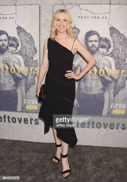 Actress Janel Moloney attends the premiere of HBO's 'The Leftovers' Season 3 at Avalon Hollywood on April 4 2017 in Los Angeles California
