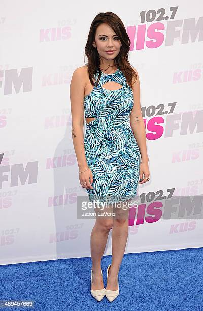 Actress Janel Parrish attends 1027 KIIS FM's 2014 Wango Tango at StubHub Center on May 10 2014 in Los Angeles California