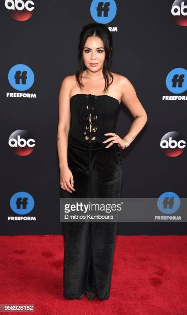 Actress Janel Parrish attends during 2018 Disney, ABC, Freeform Upfront at Tavern On The Green on May 15, 2018 in New York City.