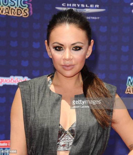 Actress Janel Parrish attends the 2017 Radio Disney Music Awards at Microsoft Theater on April 29 2017 in Los Angeles California