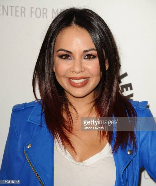 Actress Janel Parrish attends the Pretty Little Liars event at The Paley Center for Media on June 10 2013 in Beverly Hills California