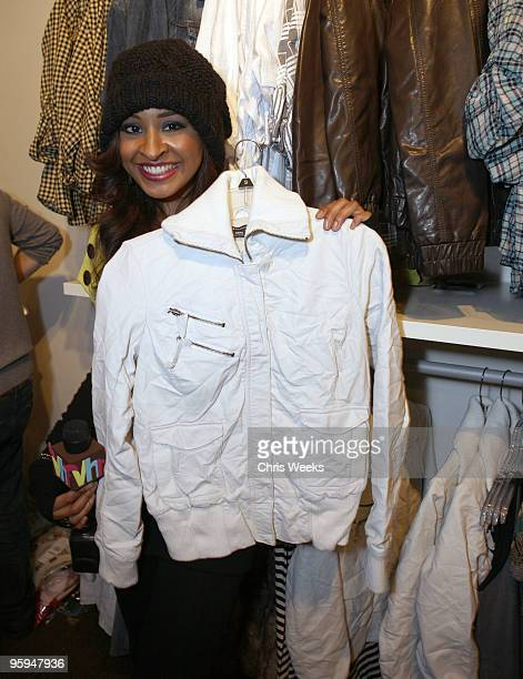 Actress Janell Snowden attends Village at the Yard during the 2010 Sundance Film Festival on January 22 2010 in Park City Utah