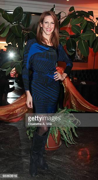 Actress Janet De Nardis attends '2009 Margutta Awards' at Margutta RistoArte on November 24 2009 in Rome Italy