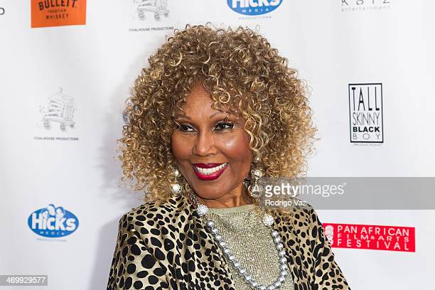 Actress Ja'net Du Bois attends the Pan African Film Arts Festival Closing Night Premiere Blackbird at Rave Cinemas on February 16 2014 in Los Angeles...