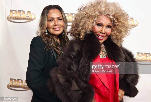 Actress Ja'Net Dubois and daughter Rani Dubois attend the Black Business Association's Salute to Black History Awards Dinner at California African...