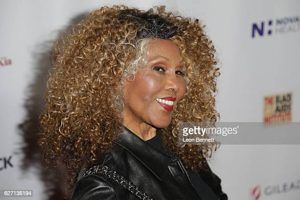 Actress Ja'net DuBois arrives at the Heroes In The Struggle Gala at Director's Guild Of America on December 1 2016 in West Hollywood California