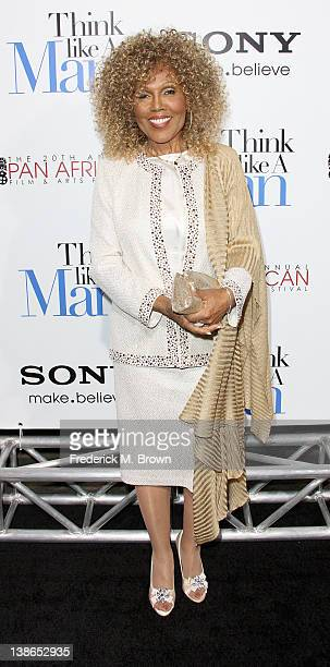 Actress Ja'net Dubois attends the Premiere of Screen Gems' Think Like A Man at the ArcLight Cinemas Cinerama Dome on February 9 2012 in Hollywood...